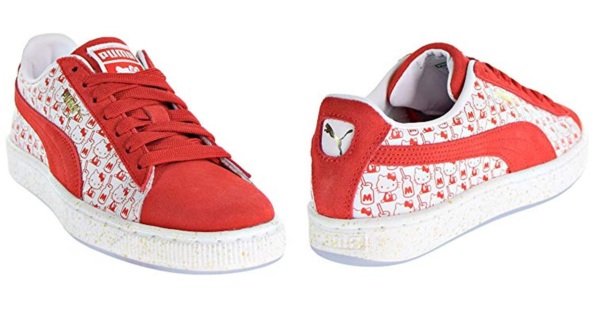 Puma Suede Classic X Hello Kitty Womens Shoes