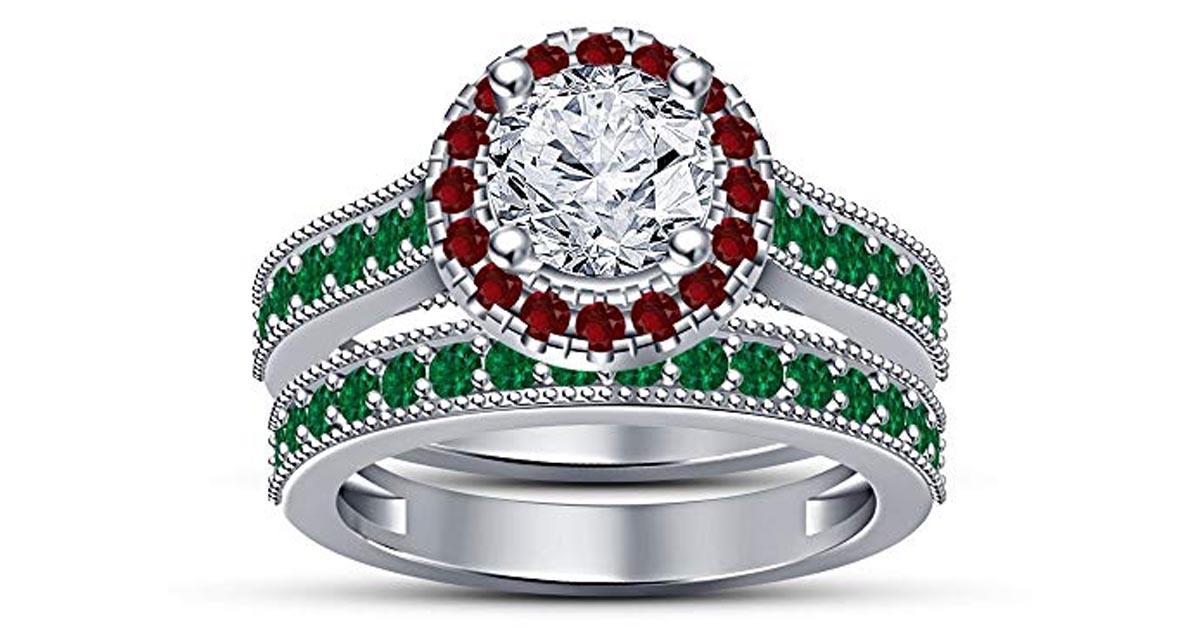 Ariel Princess Ring Set