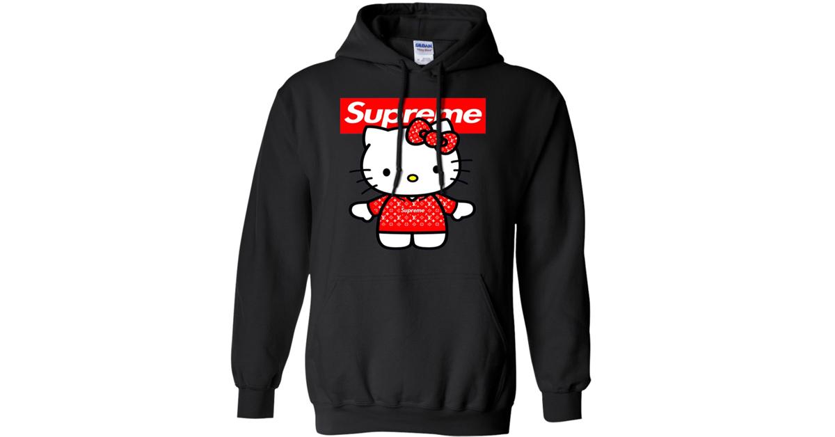 Supreme X Hello Kitty Hoodie