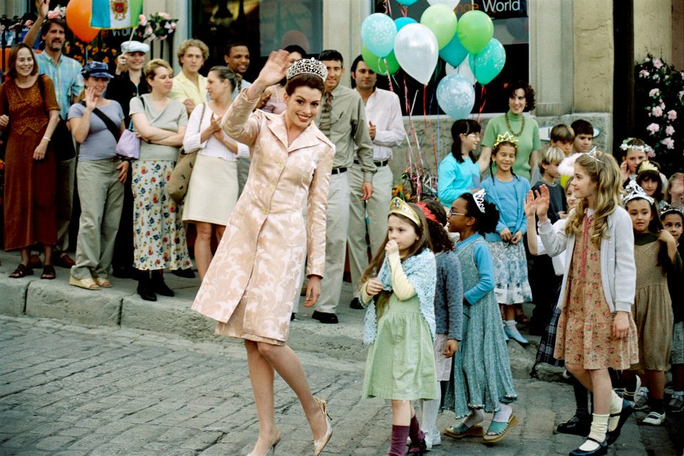 Anne Hathaway in The Princess Diaries 2: Royal Engagement