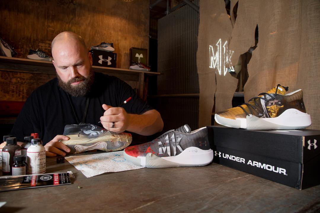 Dan Gamache of Mache Custom Kicks