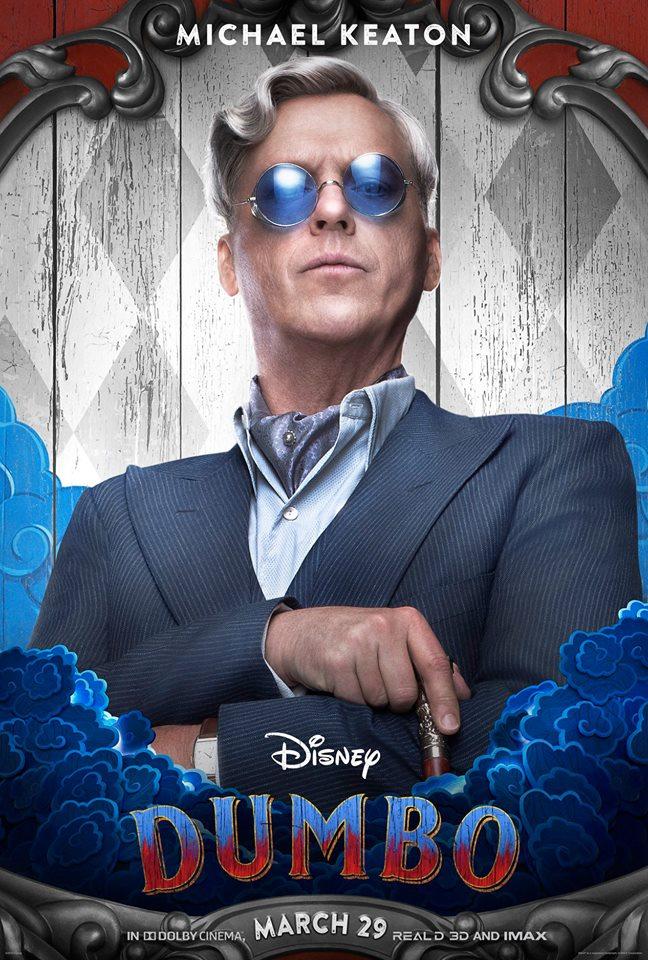 Michael Keaton as V.A. Vandevere