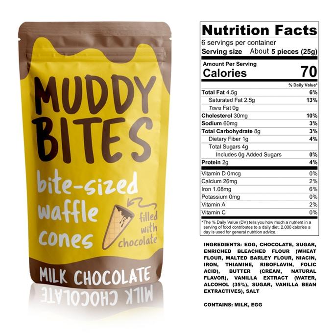 Muddy Bites packaging