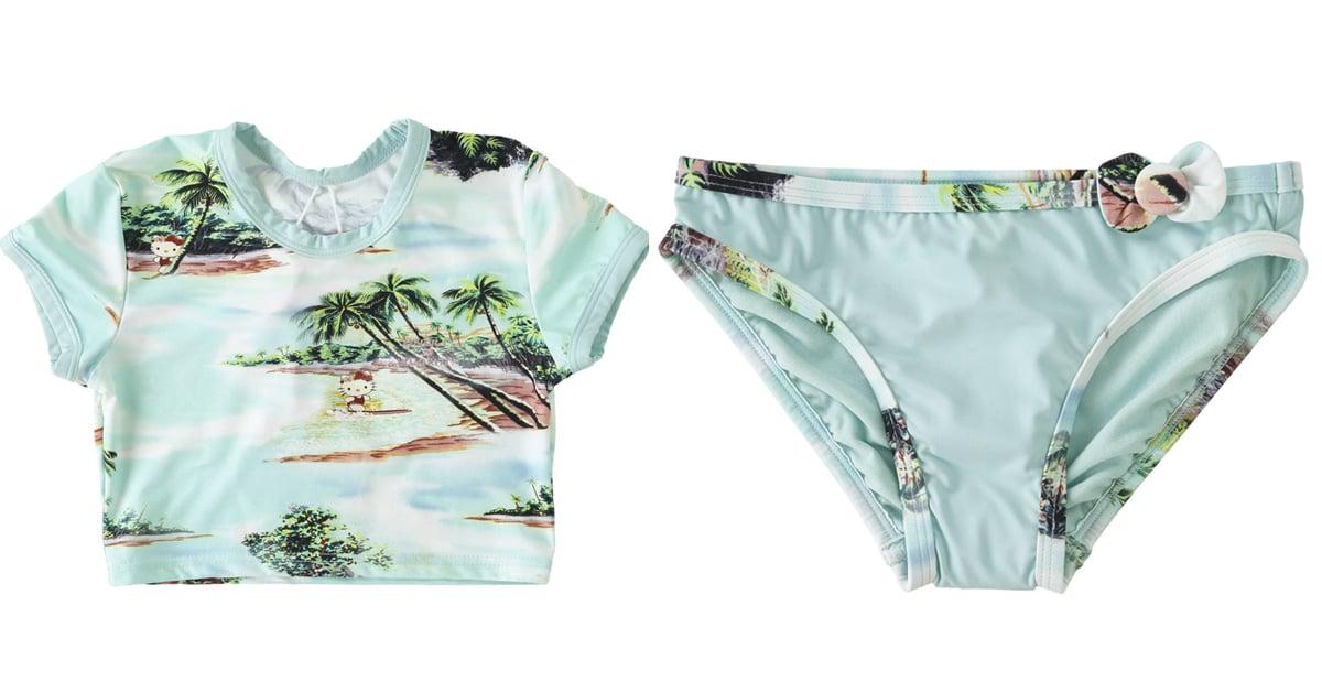 O'Neill X Hello Kitty Girls Swimsuit
