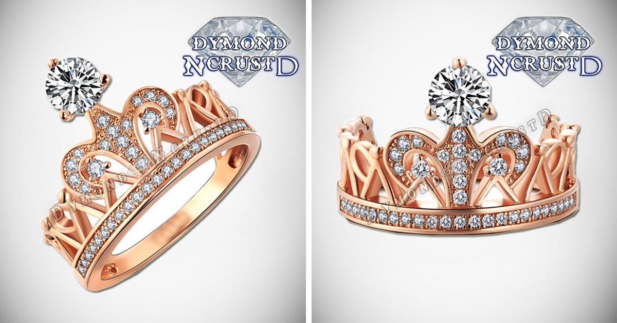 Swarovski Diamonds Princess Tiara Ring
