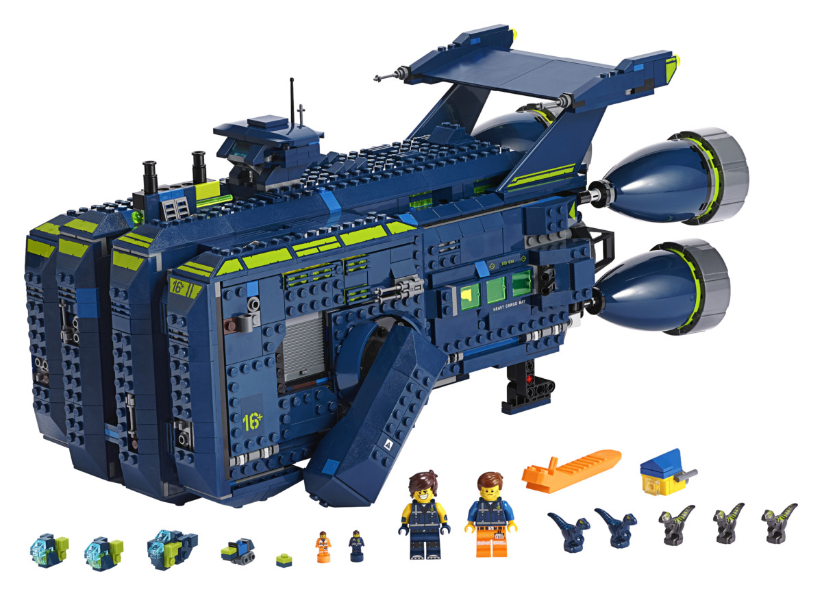 The Lego Movie 2-inspired building set The Rexcelsior