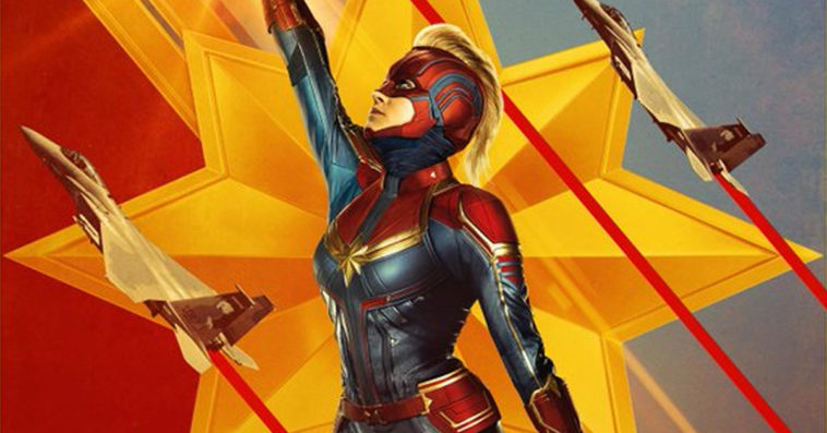 New Captain Marvel posters & trailer add more hype to the upcoming film 14