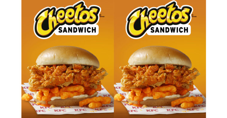 KFC's Cheetos sandwich