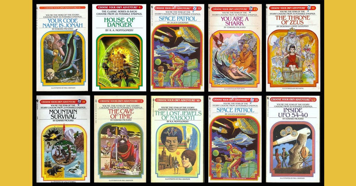 Choose Your Own Adventure book series