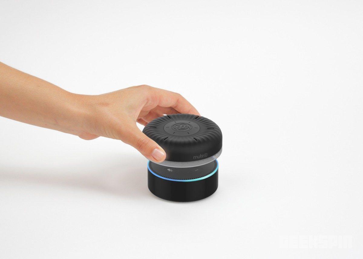 echodotmute 1024x731 - Put Alexa on time-out with Smartē Mute+