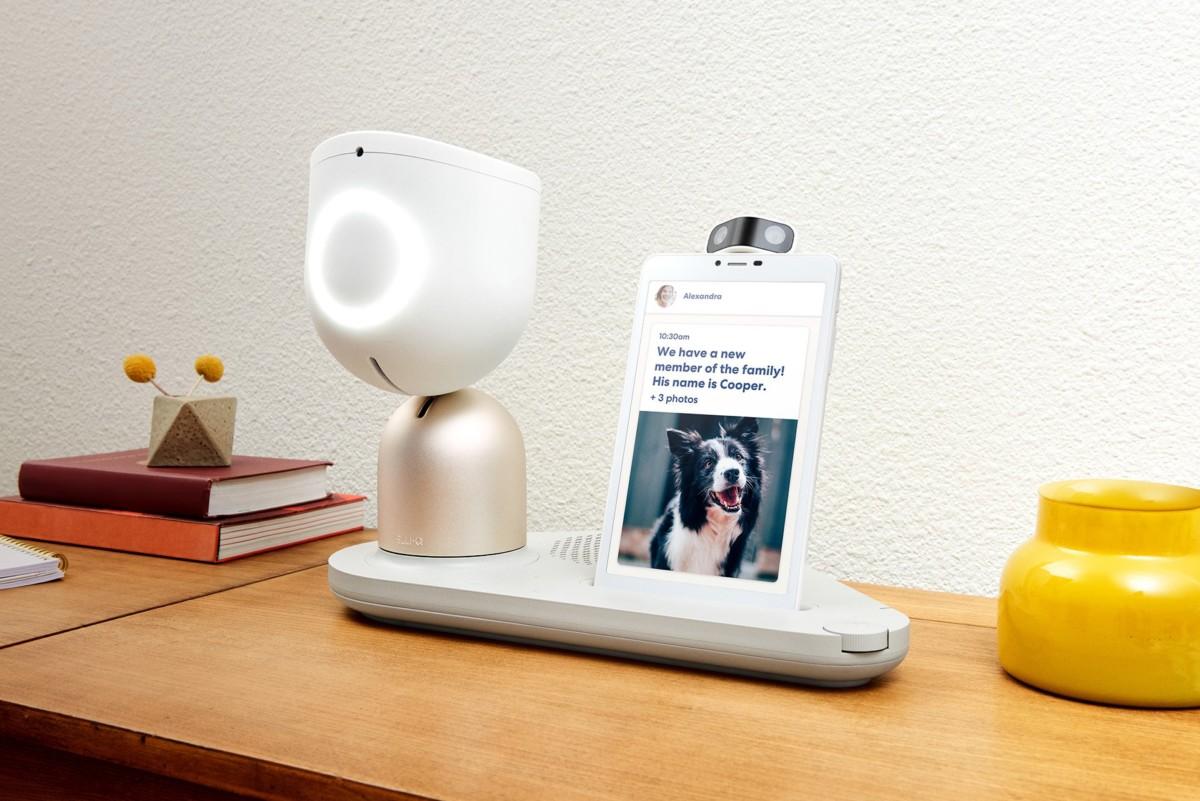 elliq 364x205 - ElliQ is an AI-driven robot designed to keep the elderly company