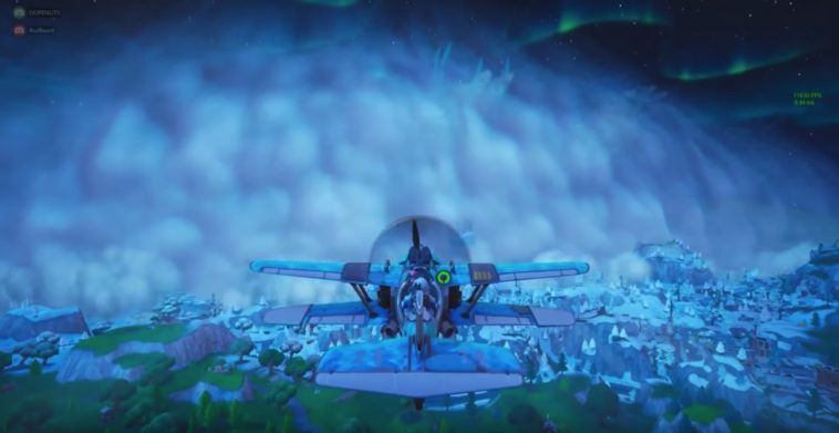 Fortnite is having their own winter ice storm 10