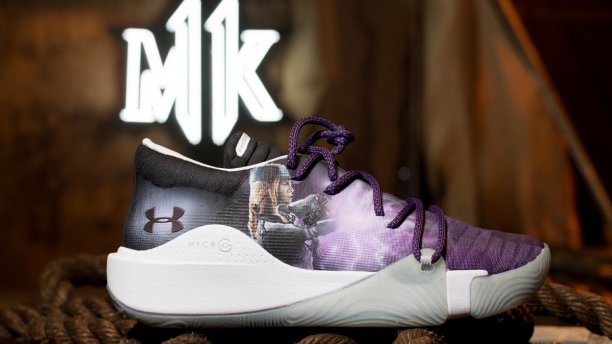 Under Armour x Mortal Kombat Sonya shoes