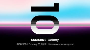 Samsung teases their Galaxy S10 with event invites. Here are the facts. 15