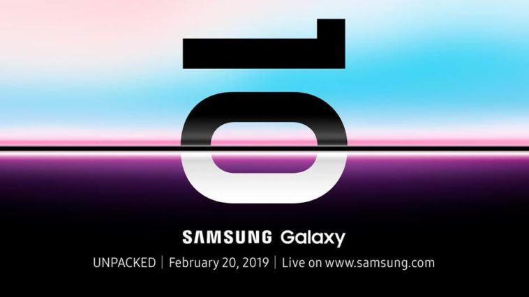 Samsung teases their Galaxy S10 with event invites. Here are the facts. 14