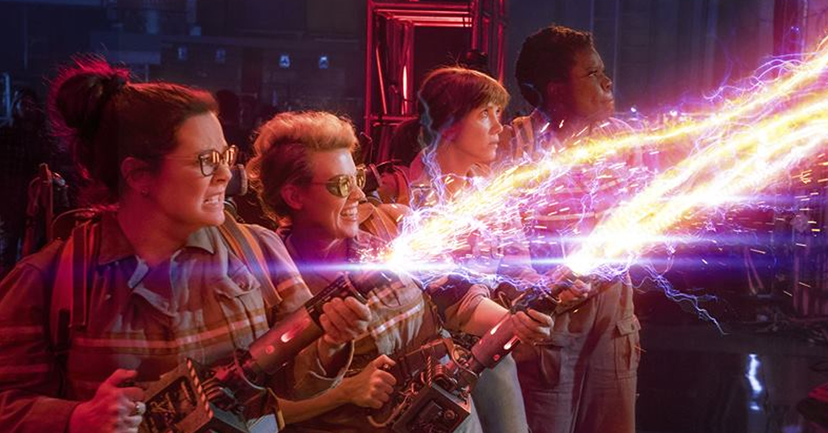 The cast of the all-female Ghostbusters reboot
