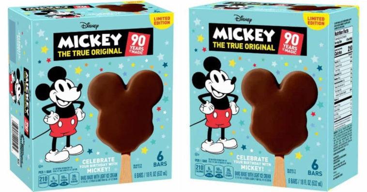 Mickey The True Original ice cream bars