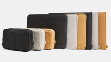 incase econeue all colors lineup 364x205 - Incase's latest MacBook sleeves are biodegradable