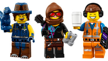 Limited-Edition Lego Movie 2 minifigures