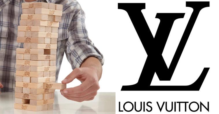 Louis Vuitton Jenga set