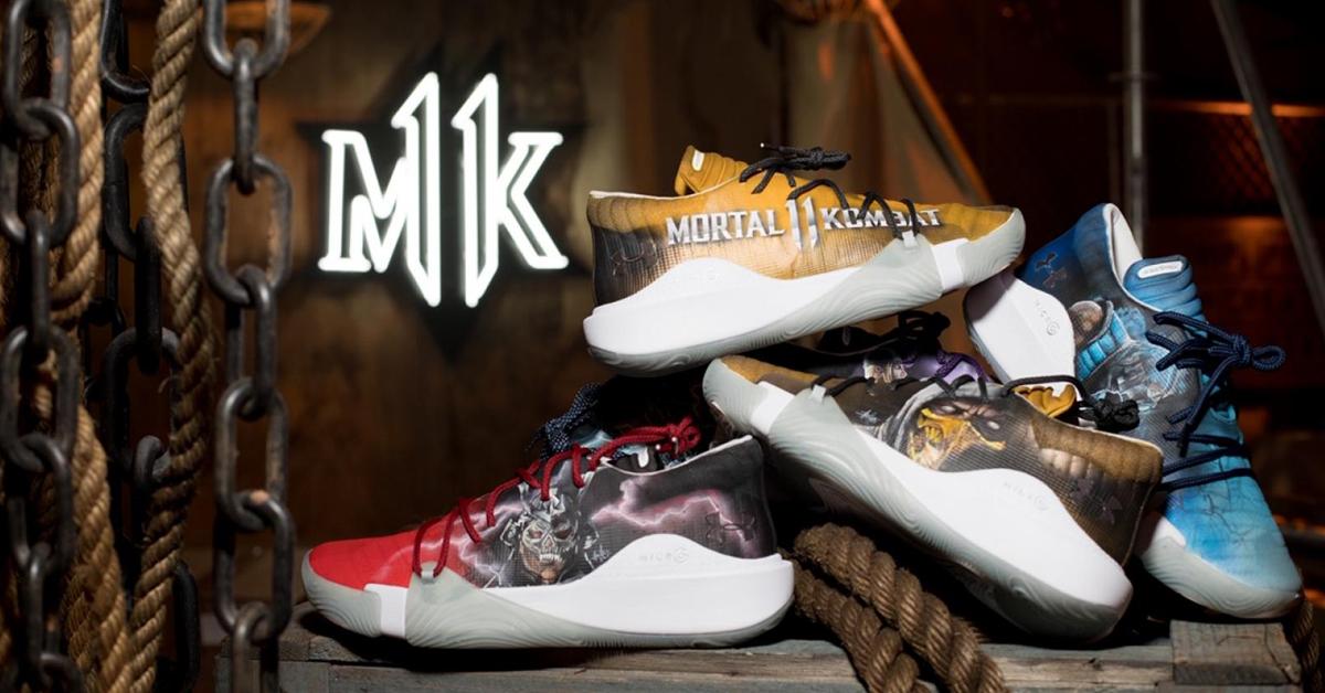 Under Armour x Mortal Kombat shoes