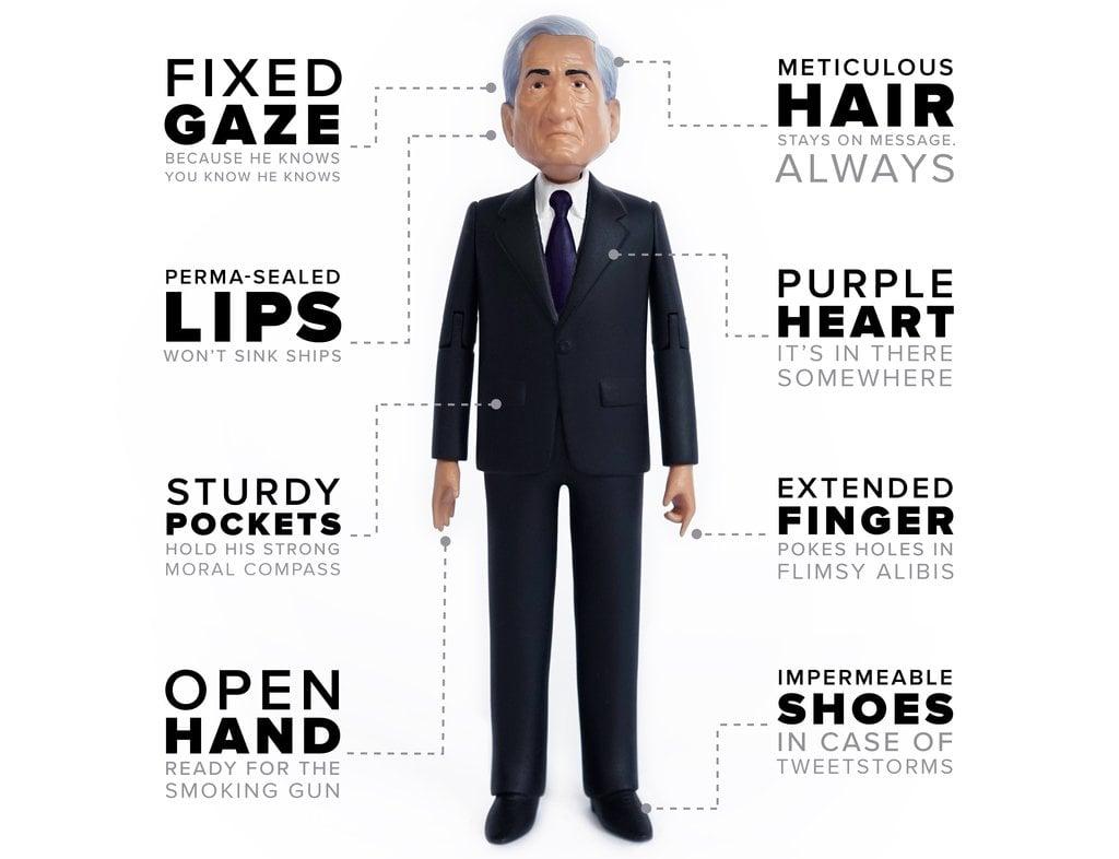 Robert Mueller action figure product description
