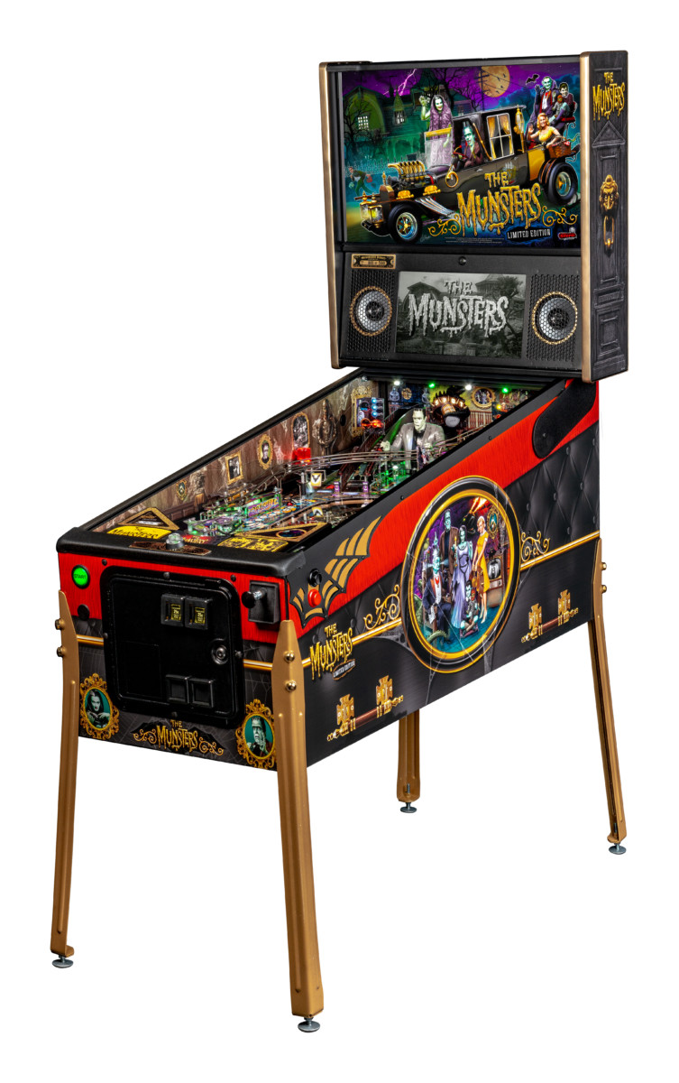 The Munsters pinball machine - Limited Edition model