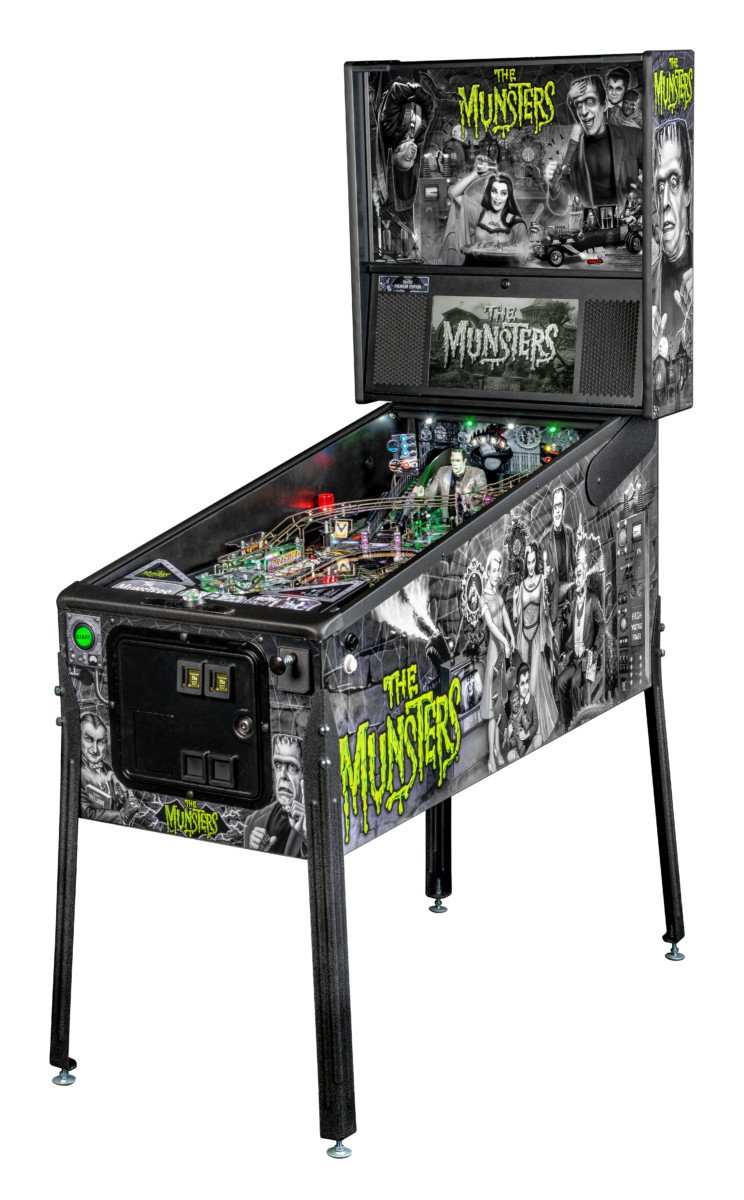 The Munsters pinball machine - Premium model