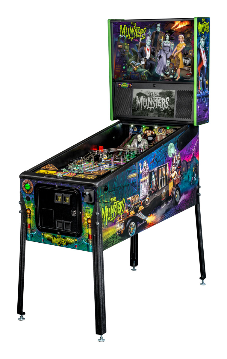 The Munsters pinball machine - Pro model