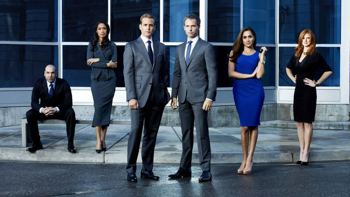 Suits cast