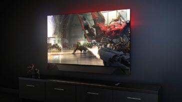 "HP adds a soundbar to the already dreamy 65"" OMEN X Emperium gaming monitor 16"