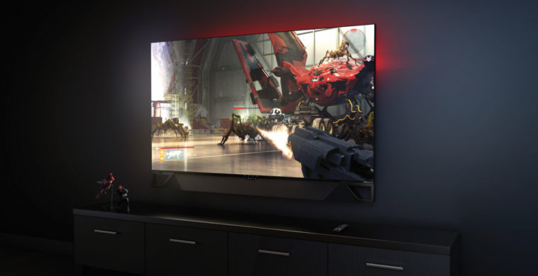 "HP adds a soundbar to the already dreamy 65"" OMEN X Emperium gaming monitor 13"