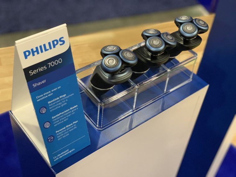 philips 7000 shaver 758x569 - Philips has an AI-powered razor for men with sensitive skin