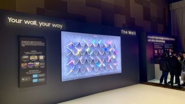 Samsung's modular The Wall TV now comes in 219 inches 16