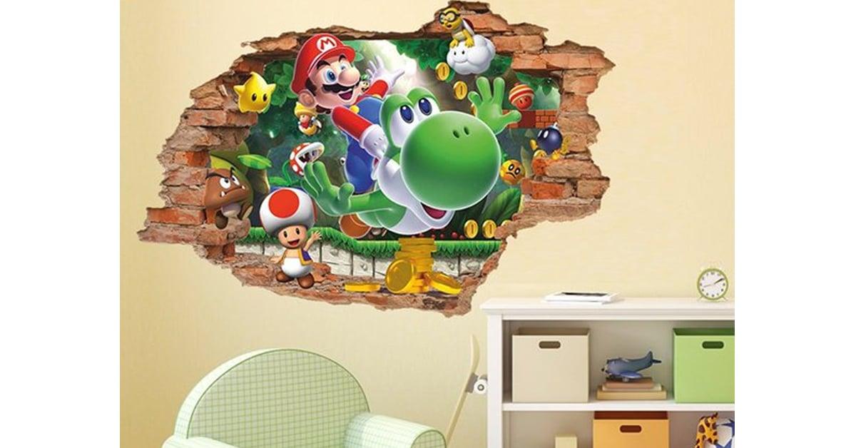 super mario 3d wall decal - 19 Super unique gifts for Super Mario fans