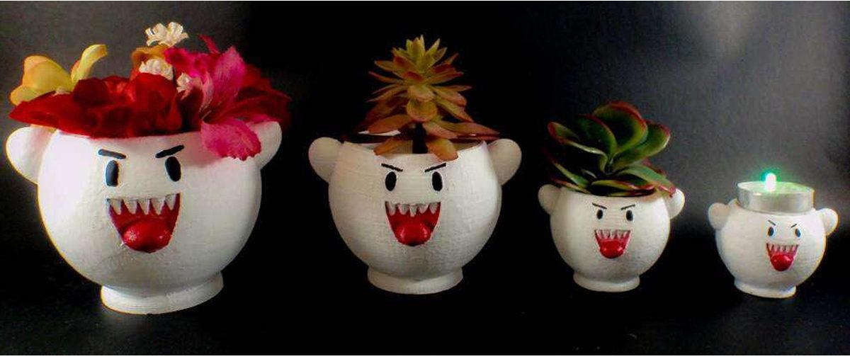 super mario boo planter 1 e1547578992516 - 19 Super unique gifts for Super Mario fans