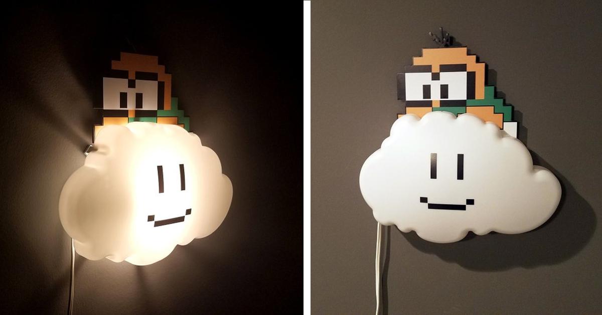 super mario lakitu cloud nightlight 1 - 19 Super unique gifts for Super Mario fans