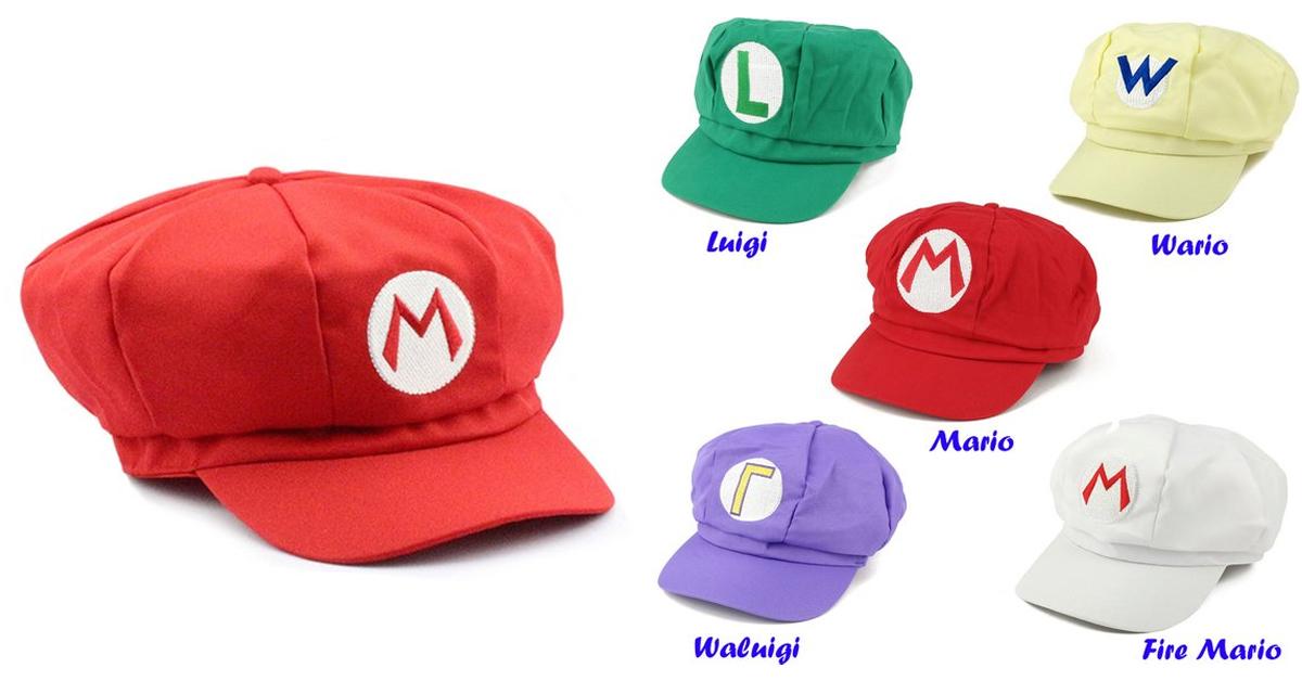 super mario newsboy cap - 19 Super unique gifts for Super Mario fans