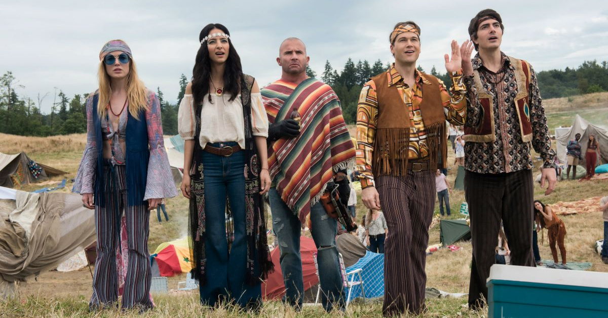 The cast of Legends of Tomorrow