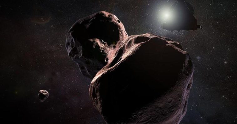 Ultima Thule artist's depiction
