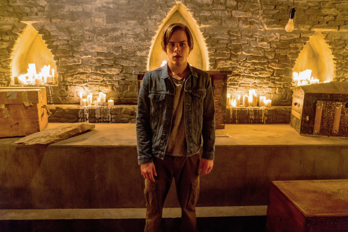 Jake Manley as Jack Morton on Netflix's The Order