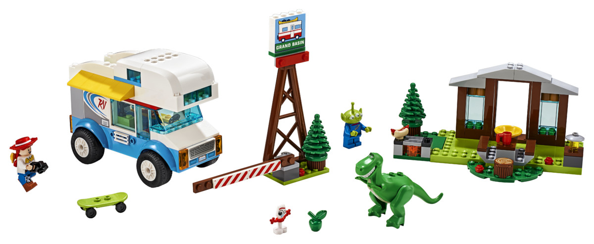 LEGO Toy Story 4 Toy Story 4 RV Vacation set