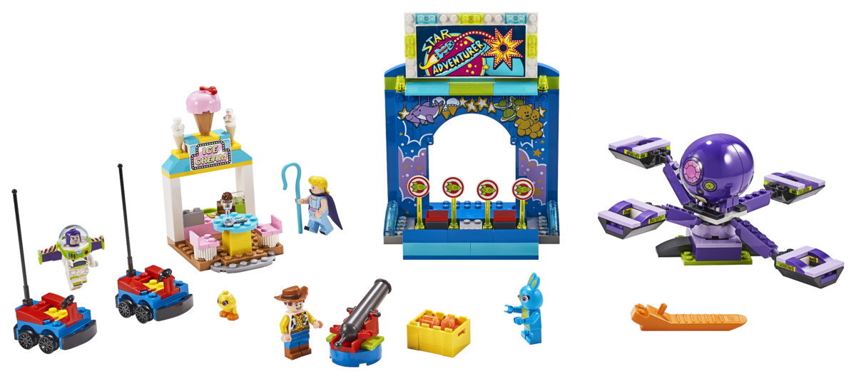 LEGO Toy Story 4 Buzz & Woody's Carnival Mania! set