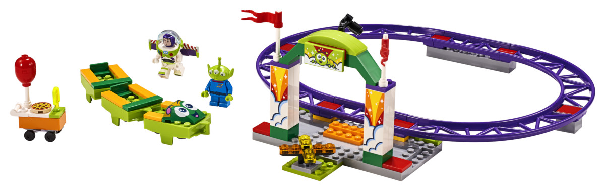 LEGO Toy Story 4 Carnival Thrill Coaster set