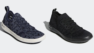 Terrex Parley DLX boat shoes and Terrex Climacool Parley shoes