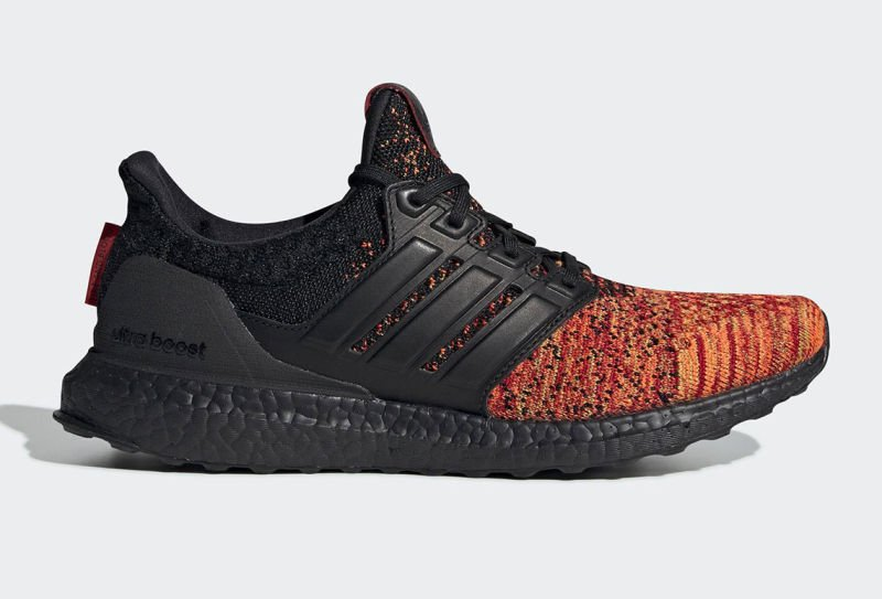 Adidas x Game of Thrones Targaryen's Dragons shoes