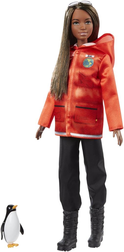 Barbie x National Geographic Polar Marine Biologist playset