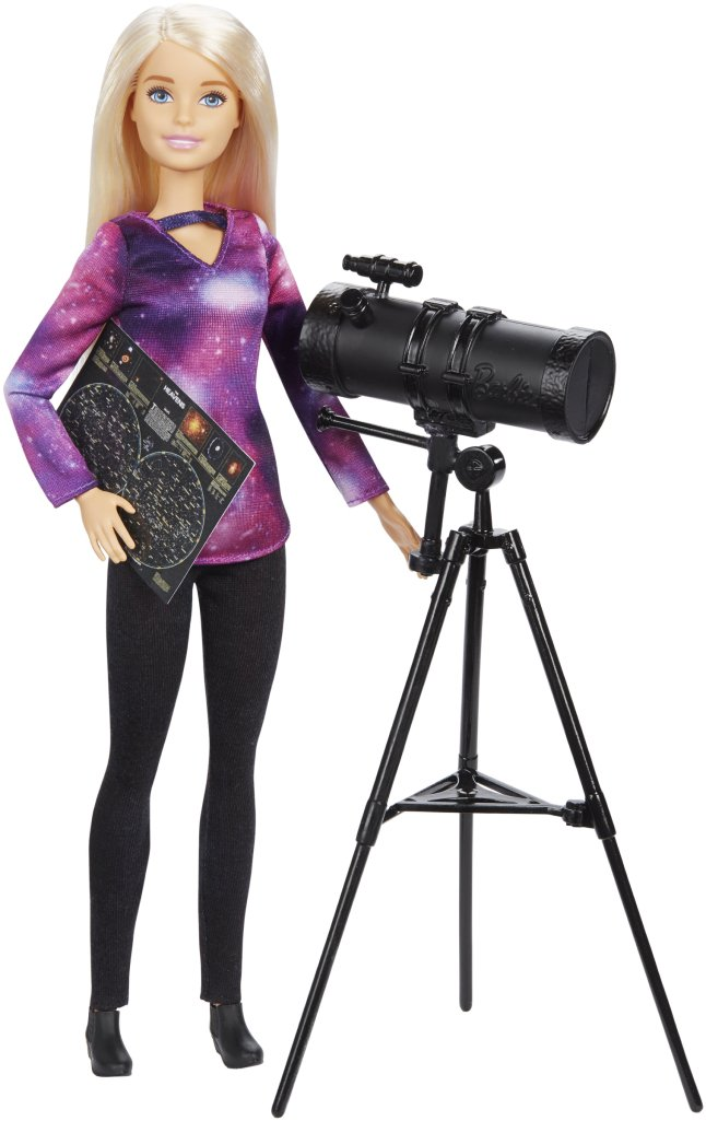 Barbie x National Geographic Astrophysicist playset