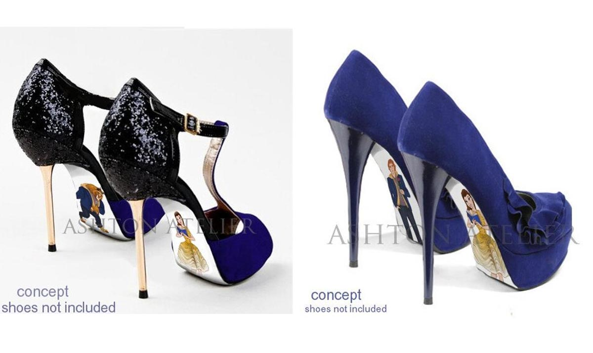 Beauty and the Beast Pumps