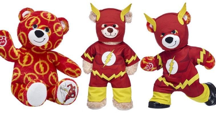 Build-A-Bear Workshop The Flash bear gift set